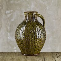 Doug-Fitch-Large-Mega-Pellet-Jug-Green-Slipware-Shannon-Tofts