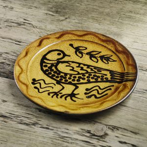 Doug-Fitch-Slip-Trailed-Bird-Plate-Slipware-Shannon-Tofts