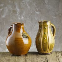 Doug-Fitch-Sprig-Applique-Small-Jug-Slipware-Shannon-Tofts
