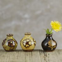 Hannah-McAndrew-Slip-Trailed-Bud-Vases-Slipware-Shannon-Tofts