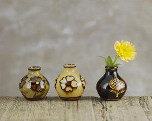 Hannah-McAndrew-Slip-Trailed-Bud-Vases-Slipware-Shannon-Tofts